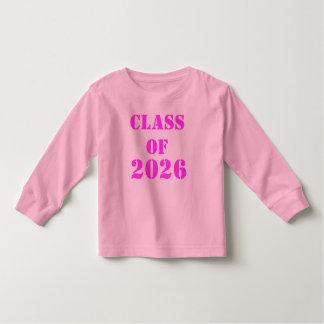 Class of 2026 toddler t-shirt