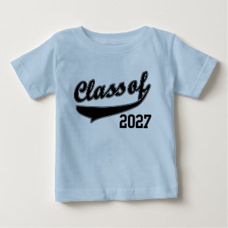 Class of 2027, Cute Funny Baby T-Shirt