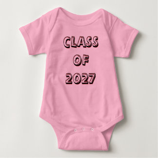 Class of 2027 Infant Creeper (Onesy)