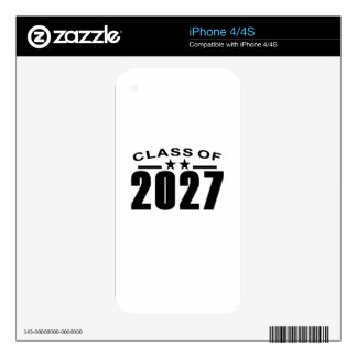 Class Of 2027 Shirts.png iPhone 4 Decals