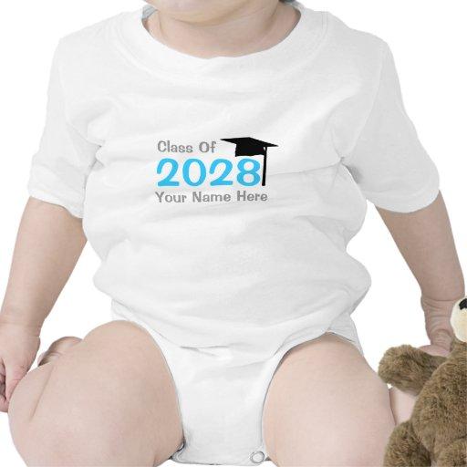 class of 2028 infant graduation tshirts