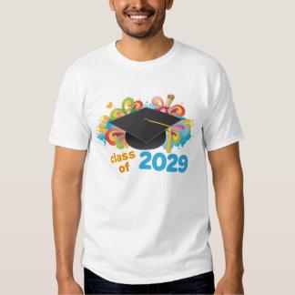 Class of 2029 Graduate Hat Gift Idea T Shirt