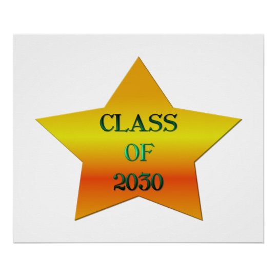 Class of 2030 poster