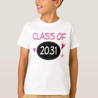 Class of 2031 future graduate T-Shirt