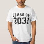 """Class Of 2031 T-Shirt<br><div class=""""desc"""">Class Of 2031 Graduation</div>"""