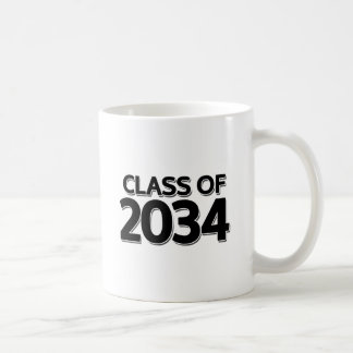 Class of 2034 coffee mug