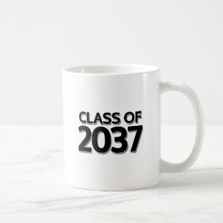 Class of 2037 coffee mug