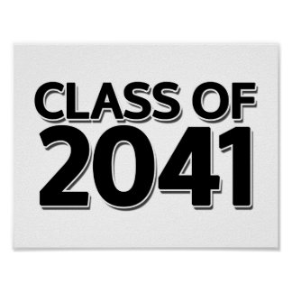 Class of 2041 poster