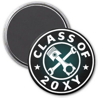 Class of 20?? Automotive 3 Inch Round Magnet
