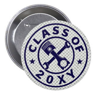 Class of 20?? Automotive Pinback Button