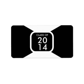 Class of 20** template label