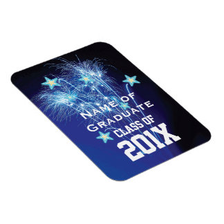 Class of 20xx Customize NAME YEAR Template Magnet