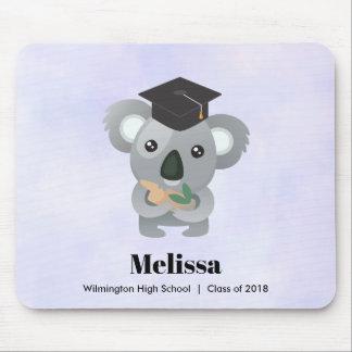 Class of 20xx Cute Koala Bear in Graduation Cap Mouse Pad