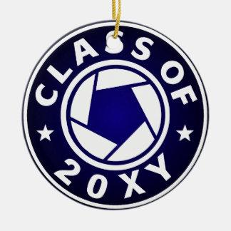 Class Of 20XX Photography Ceramic Ornament