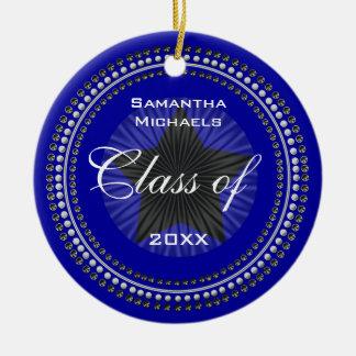 Class of 20XX Star Graduation Ornament