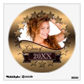 Class of 20XX Stars Gold 2XCO Wall Sticker