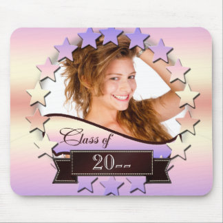 Class of 20XX Stars Pink 2XCO Mouse Pad