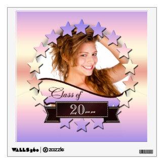 Class of 20XX Stars Pink 2XCO Wall Sticker