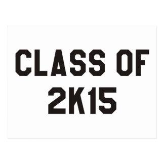 Class of 2K15 Postcard