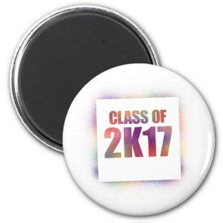 class of 2k17, class of 2017 magnet