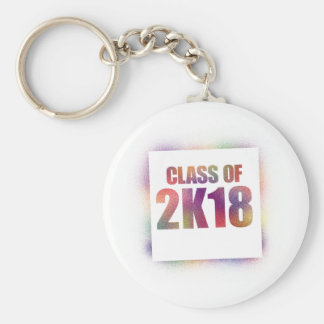 class of 2k18, class of 2018 key chains