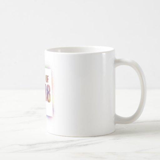 class of 2k18, class of 2018 mugs