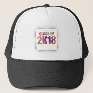 class of 2k18, class of 2018 trucker hat