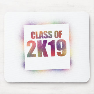 class of 2k19, class of 2019 mouse pad