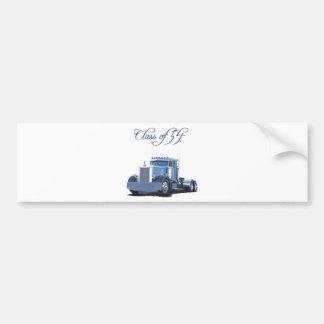 Class of '54 Trucker Apparel Bumper Sticker
