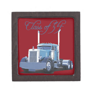 Class of '54 Trucker Apparel Keepsake Box
