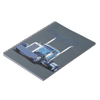 Class of '54 Trucker Apparel Notebook