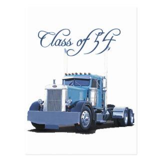 Class of '54 Trucker Apparel Postcard