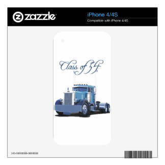 Class of '54 Trucker Apparel Skins For iPhone 4