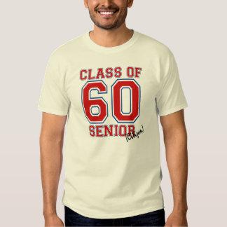 Class of 60 t-shirt