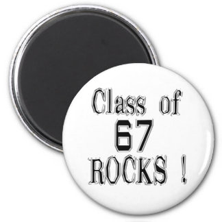 Class of '67 Rocks! Magnet