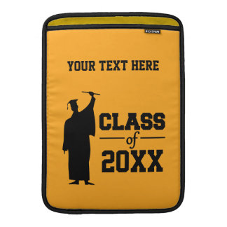 "Class of ANY year custom 13"" MacBook sleeve"