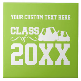 Class of ANY year custom ceramic tile