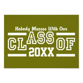 Class of ANY Year custom invitation