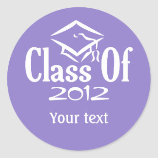 Class of ANY YEAR custom stickers