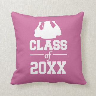 Class of ANY year custom throw pillow