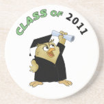 Class of beverage coasters