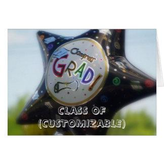 CLASS OF (CUSTOMIZABLE) graduation card
