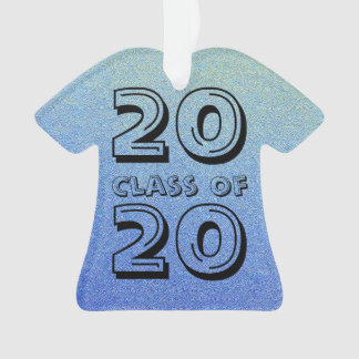 Class of Dazzling Blue Ombre Glitter Sand Look