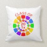 Class of ... Flower, Customizable Pillows