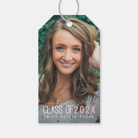 Class of ... gift tags