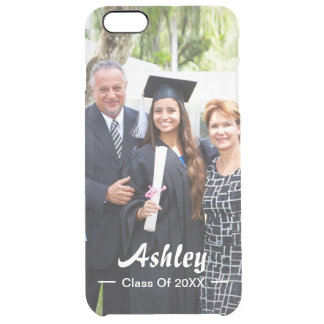 Class of Graduate Photo Portrait Modern Stylish Clear iPhone 6 Plus Case