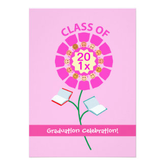 Class of ..., Graduation Celebration Custom Announcements
