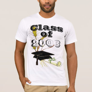 Class of Graduation Change to Current Year T-Shirt