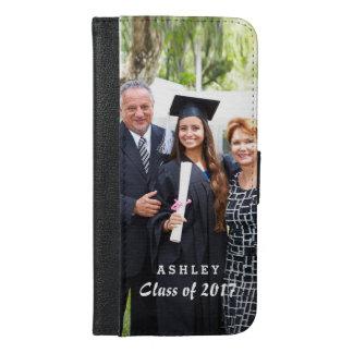 Class of Graduation Graduate Photo Portrait iPhone 6/6s Plus Wallet Case