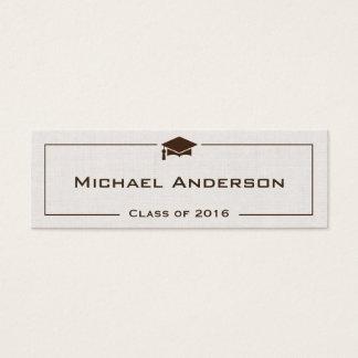 Graduation Name Cards